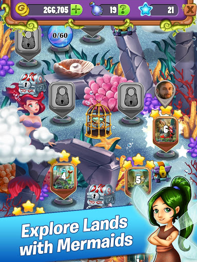 Download Mahjong - Mermaid Quest - Sirens of the Deep 1.0.44 APK For Android