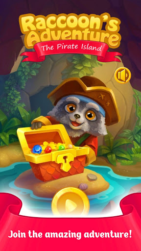 Download Raccoon's Adventure: The Pirate Island - Match 3 1.34 APK For Android