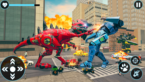 Download Raptor Robot Games: Drone Robot Grand Hero 1.0.13 APK For Android