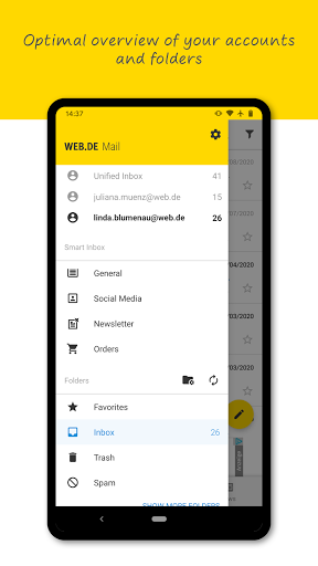 Download WEB.DE Mail & Cloud 6.17.2 APK For Android
