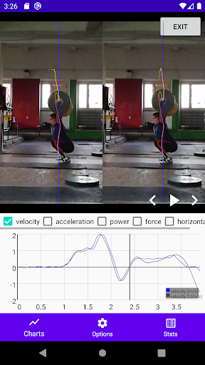 Download WL analysis - barbell path tracker 2.3.11 APK For Android