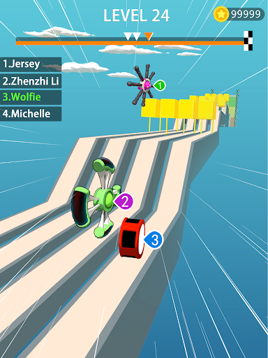 Download Wheels Run 3D 1.1.0 APK For Android
