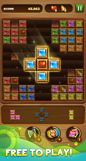 Download Wood block puzzle - Jewel blast 1.06 APK For Android
