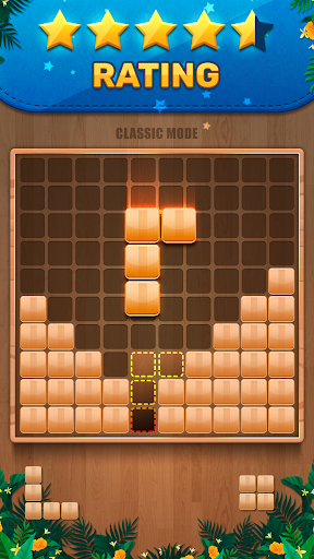 Download Wooden 100 Block Puzzle: Wood Hexa Star Gem 2.4.7 APK For Android