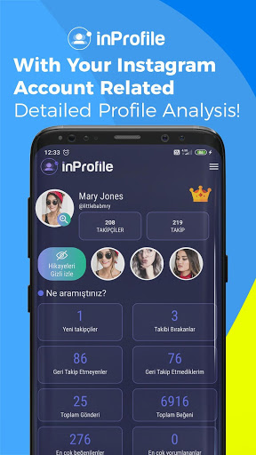 Download inProfile - İnsta Hidden Story & Follower Analysis 6.0 APK For Android