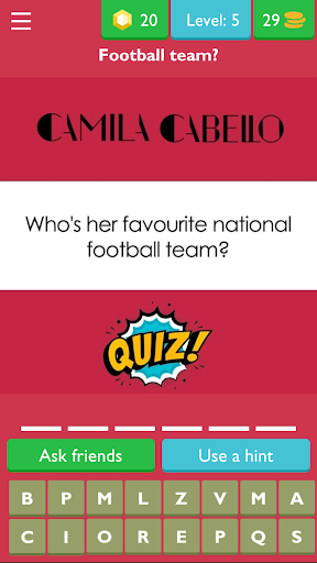Download Camila Cabello Quiz and Trivia Game 7.1.3z APK For Android