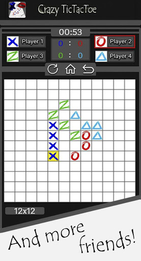 Download Crazy Tic Tac Toe 1.0.4 APK For Android