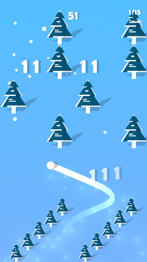 Download Dancing Snow - Musical Casual Ball Game 1.0.8 APK For Android