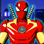 Ultimate Hero Spider Battle Verse Fight Iron Robot 2.0 APK For Android