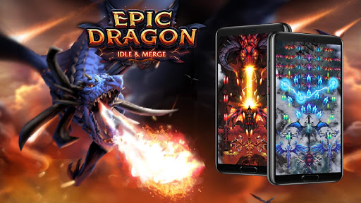 Download Dragon Epic - Idle & Merge - Arcade shooting game 1.135 APK For Android