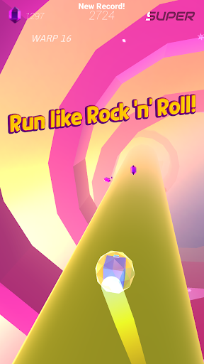 Download Warp and Roll: Space run 1.2.9 APK For Android