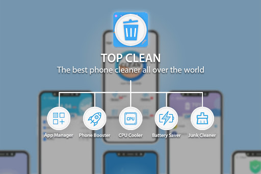 Download Top Clean - RAM Booster, App Manager 1.0.3 APK For Android