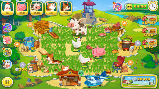 Download Frenzy Days Free: Time-Management & Farm games 1.0.73 APK For Android