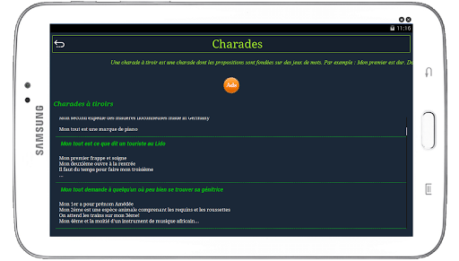 Download Les meilleurs Charades 1.3.4.0 APK For Android