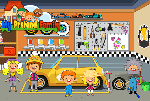 Download My Pretend Home & Family - Kids Play Town Games! 2.9 APK For Android
