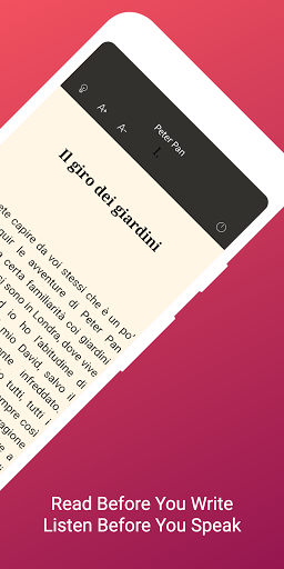 Download Italian Reading & Audiobooks for Beginners 1.4.0 Italian APK For Android