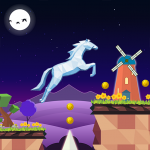 Unicorn Runner : new games 2021 14 APK For Android