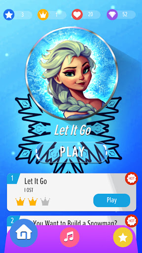 Download Piano Tiles: Let It Go (UNOFFICIAL) 🎹 1.0 APK For Android