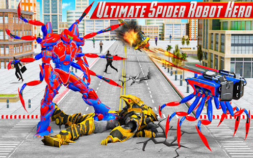 Download Spider Robot Car Game – Robot Transforming Games 9.1.6 APK For Android