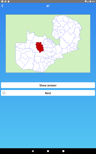 Download Zambia: Regions & Provinces Map Quiz Game 1.0.423 APK For Android