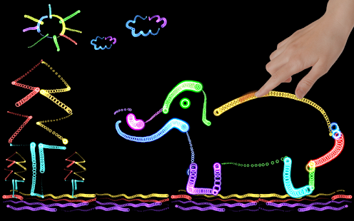 Download Glow the GIF: Art of Neon Color Drawing 1.2.1 Apk for android