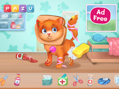Download Pet Doctor - Animal care games for kids 1.22 Apk for android