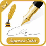 Real Signature Maker : Signature Creator Free 1.8 Apk for android